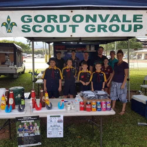 Gordonvale Scouts market volunteers