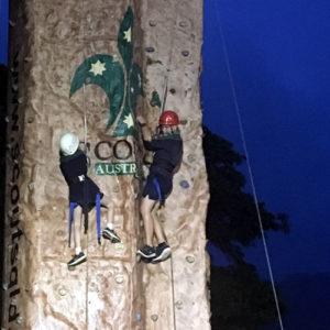 Scouts Queensland Climbing Wall