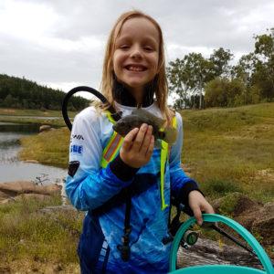 Rylan fishing