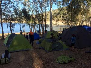 Hop-N-Howl camping